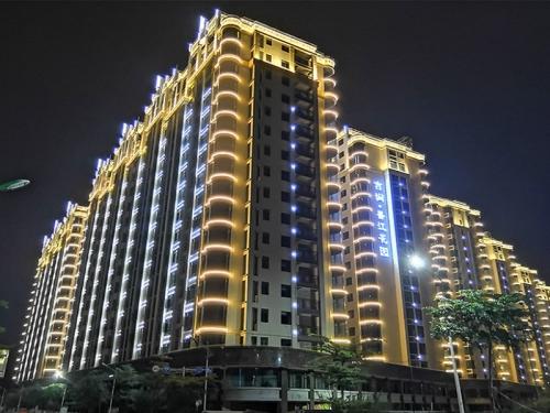 香江花园住宅楼盘亮化工程