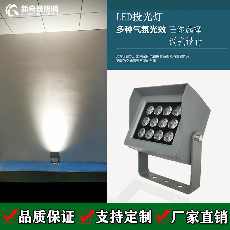 投光灯厂家聊聊透镜对光束的影响
