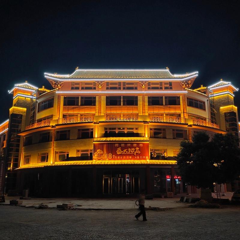 新奇晟百科|古建筑亮化,让看得见的历史发光发亮