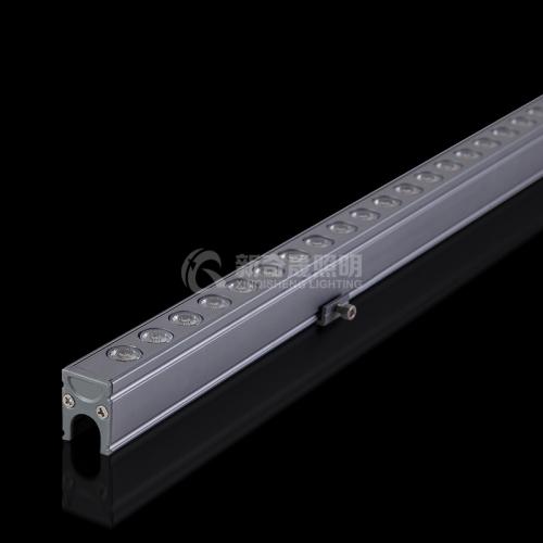 使用线型洗墙灯具备什么样的特点