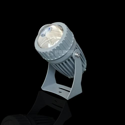 户外亮化工程中大功率LED投光灯不亮怎么解决