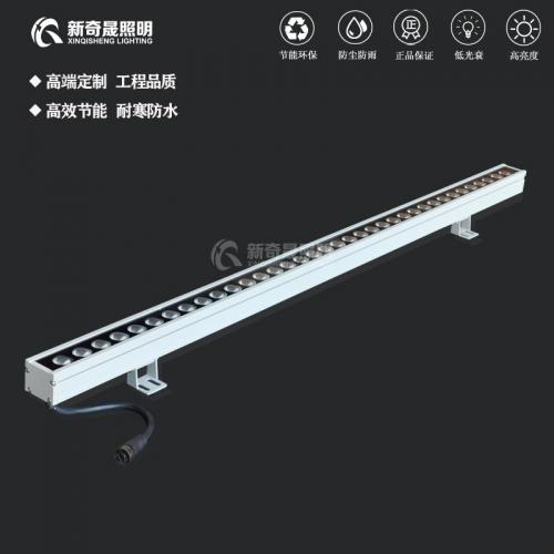 怎么选用led室外线性洗墙灯