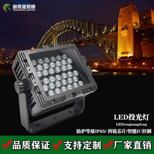 LED投光灯温度高容易坏怎么办?