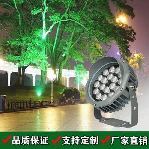 LED投光灯在亮化工程应用中有哪些作用