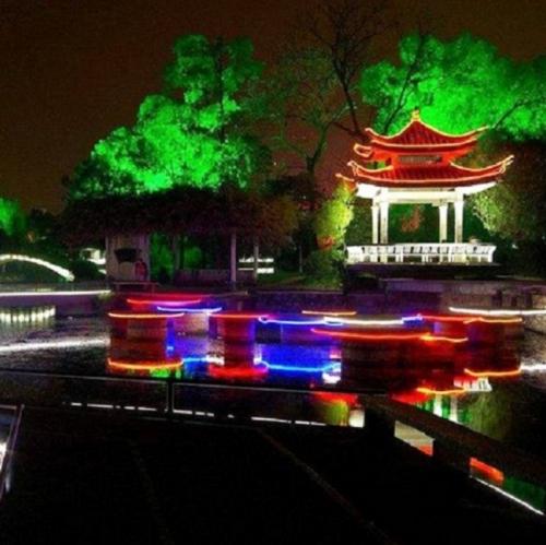 公园夜游亮化工程有哪些地方要注意呢?